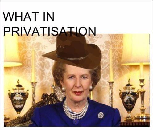 privatisation meme