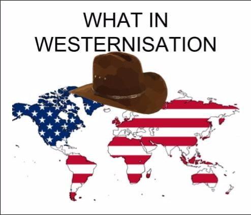 westernisation meme