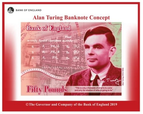 alan-turing-to-be-featured-on-new-£50-note