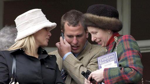 Princess Anne and children